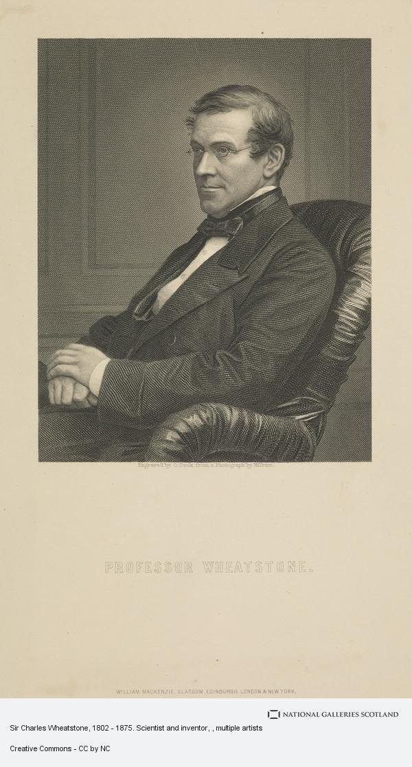 Conrad Cook, Sir Charles Wheatstone, 1802 - 1875. Scientist and inventor