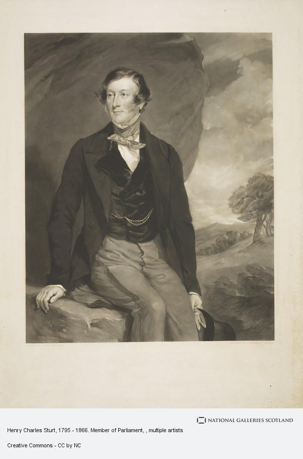 J.R. Jackson, Henry Charles Sturt, 1795 - 1866. Member of Parliament