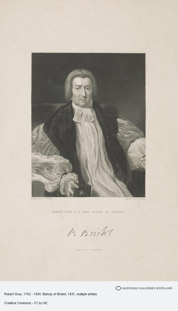 Joseph John Jenkins, Robert Gray, 1762 - 1834. Bishop of Bristol