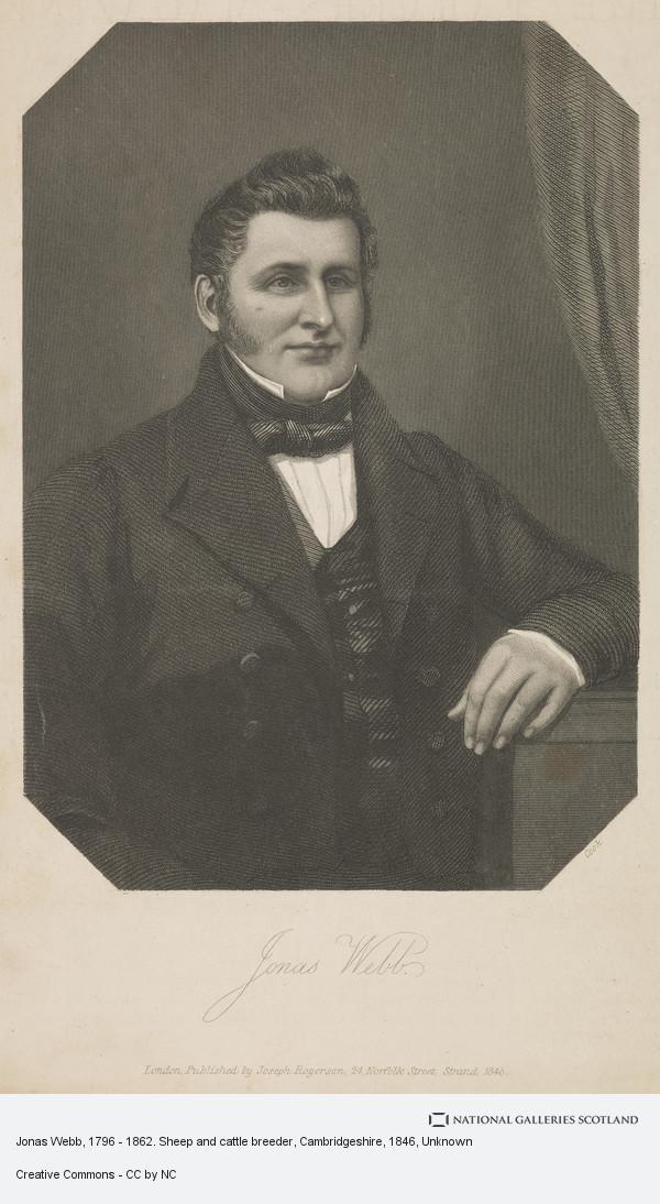 Unknown, Jonas Webb, 1796 - 1862. Sheep and cattle breeder, Cambridgeshire