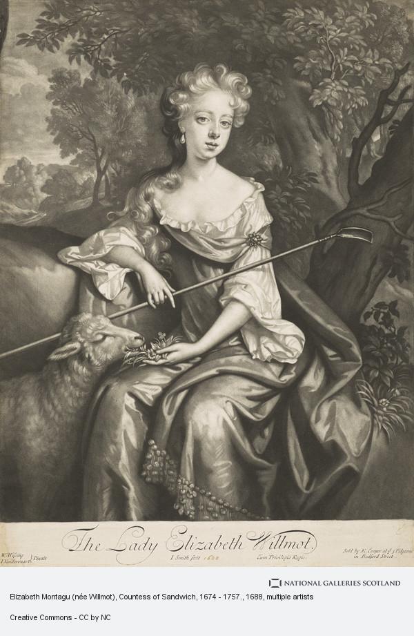 Willem Wissing, Elizabeth Montagu (née Willmot), Countess of Sandwich, 1674 - 1757.