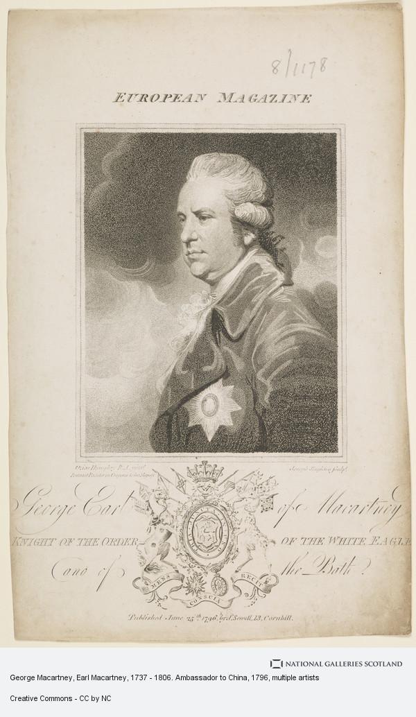 Ozias Humphry, George Macartney, Earl Macartney, 1737 - 1806. Ambassador to China