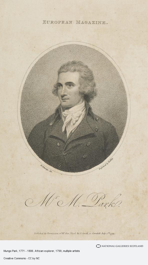 Ridley, Mungo Park, 1771 - 1806. African explorer