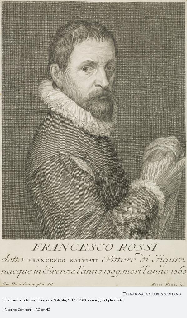 Rocco Pozzi, Francesco de Rossi (Francesco Salviati), 1510 - 1563. Painter