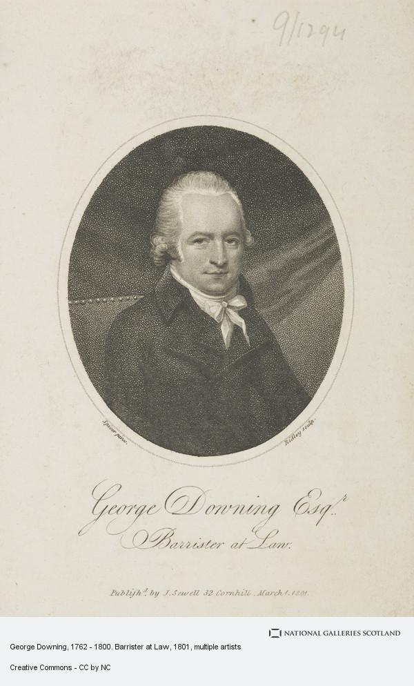 William Ridley, George Downing, 1762 - 1800. Barrister at Law