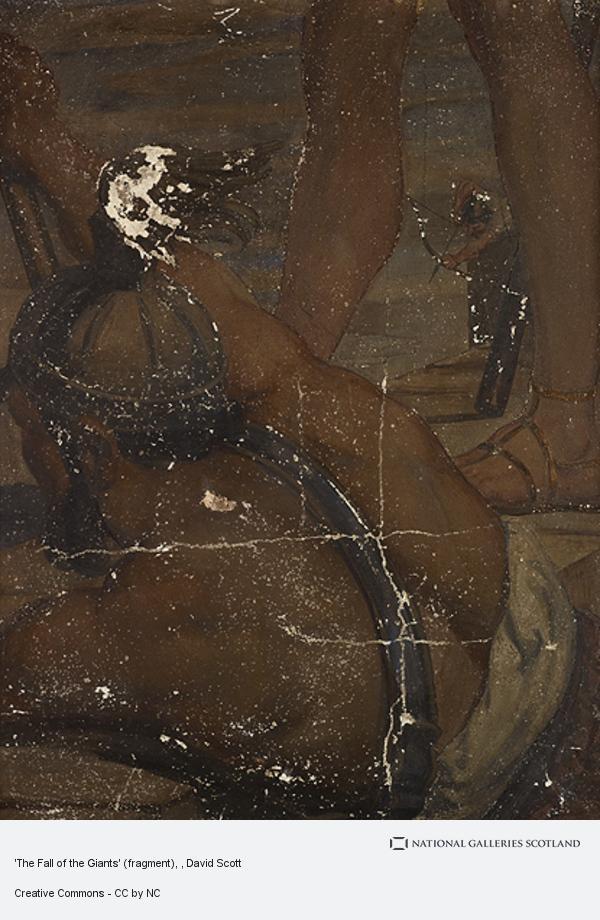 David Scott, 'The Fall of the Giants' (fragment)