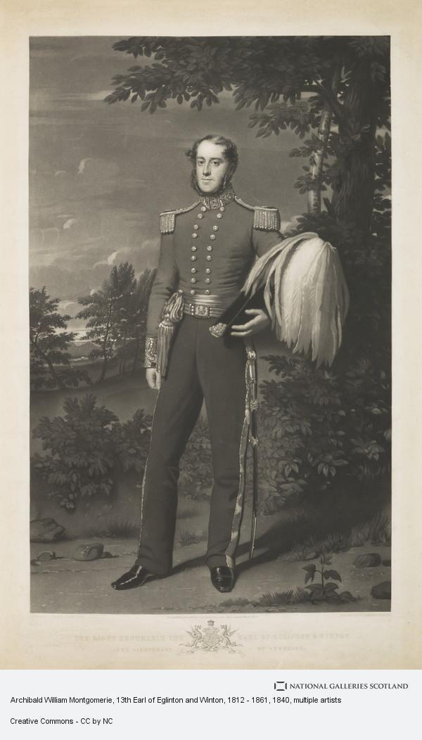 Edward Burton, Archibald William Montgomerie, 13th Earl of Eglinton and Winton, 1812 - 1861