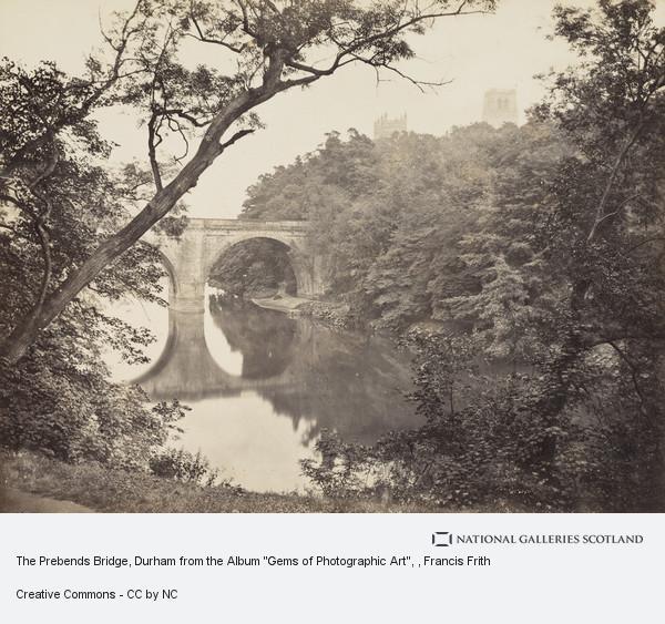 Francis Frith, The Prebends Bridge, Durham from the Album