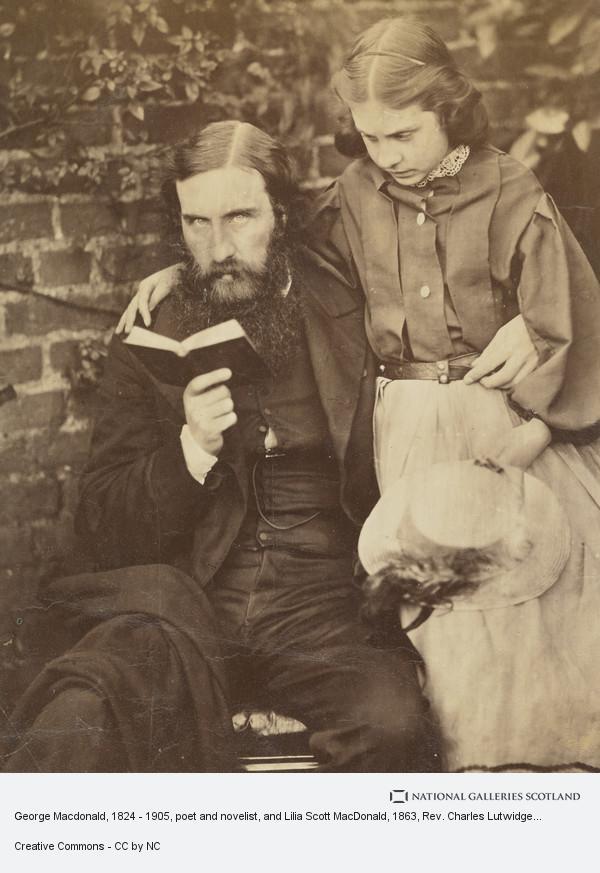 Rev. Charles Lutwidge Dodgson, 'Lewis Carroll', George Macdonald, 1824 - 1905, poet and novelist, and Lilia Scott MacDonald
