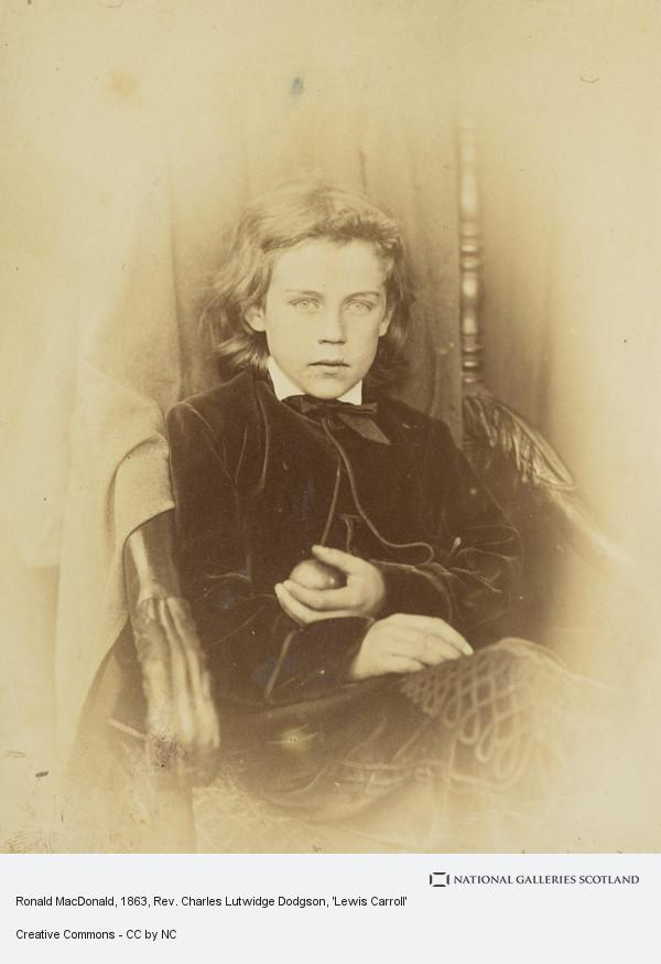 Rev. Charles Lutwidge Dodgson, 'Lewis Carroll', Ronald MacDonald