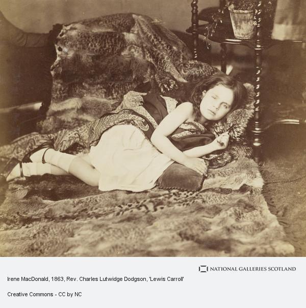 Rev. Charles Lutwidge Dodgson, 'Lewis Carroll', Irene MacDonald