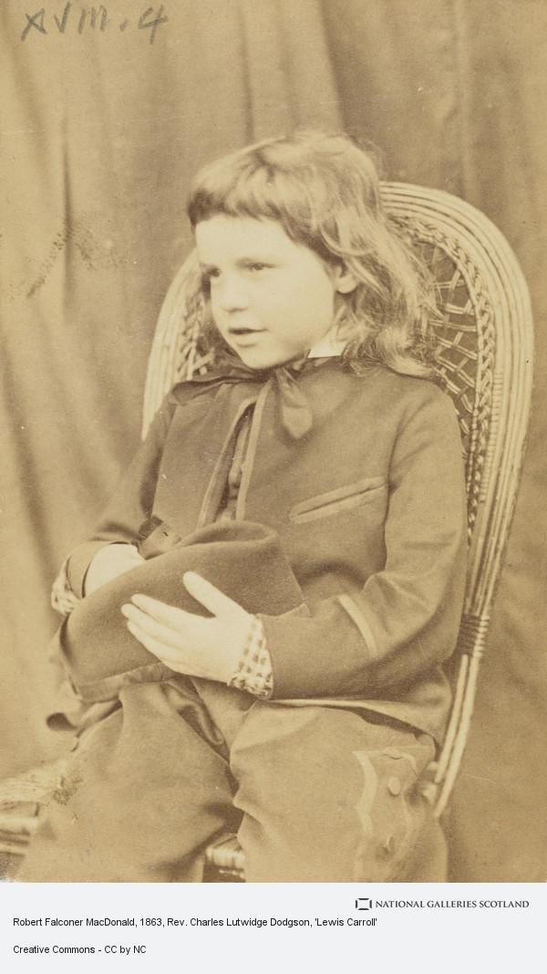 Rev. Charles Lutwidge Dodgson, 'Lewis Carroll', Robert Falconer MacDonald