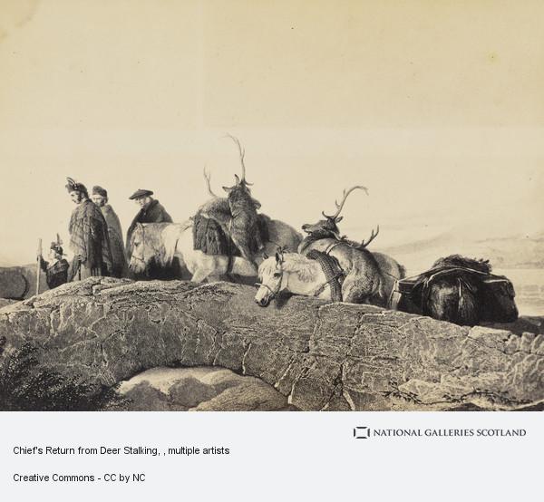 Thomas Abiel Prior, Chief's Return from Deer Stalking