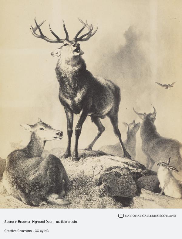 Thomas Landseer, Scene in Braemar: Highland Deer