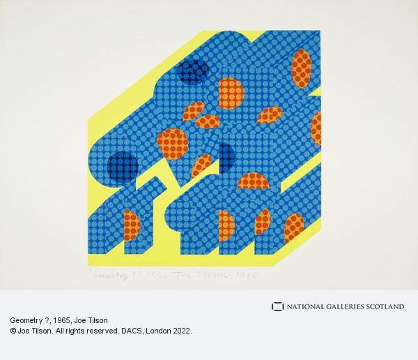 Joe Tilson, Geometry ?