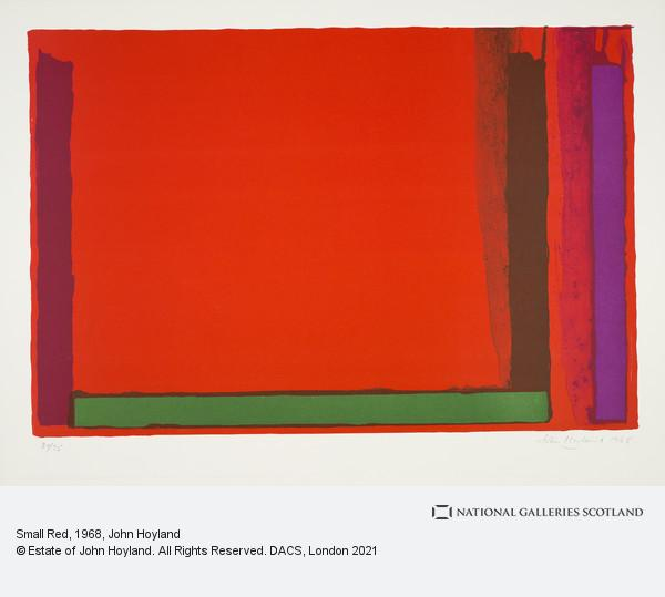John Hoyland, Small Red