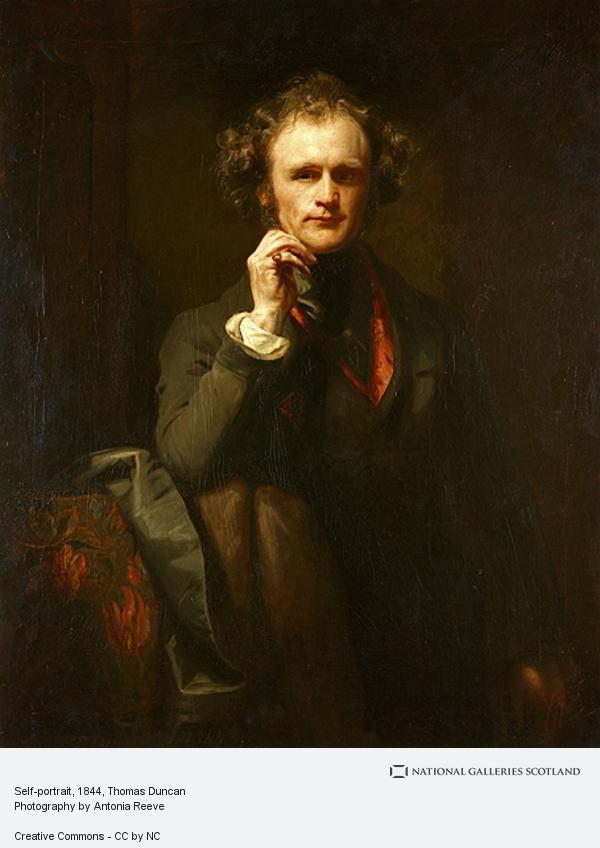 Thomas Duncan, Self-portrait