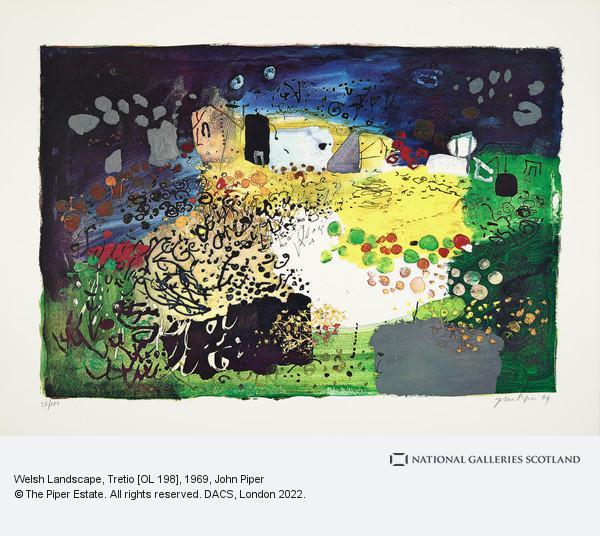 John Piper, Welsh Landscape, Tretio [OL 198]