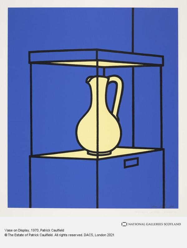 Patrick Caulfield, Vase on Display