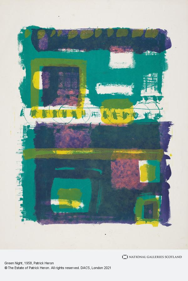 Patrick Heron, Green Night