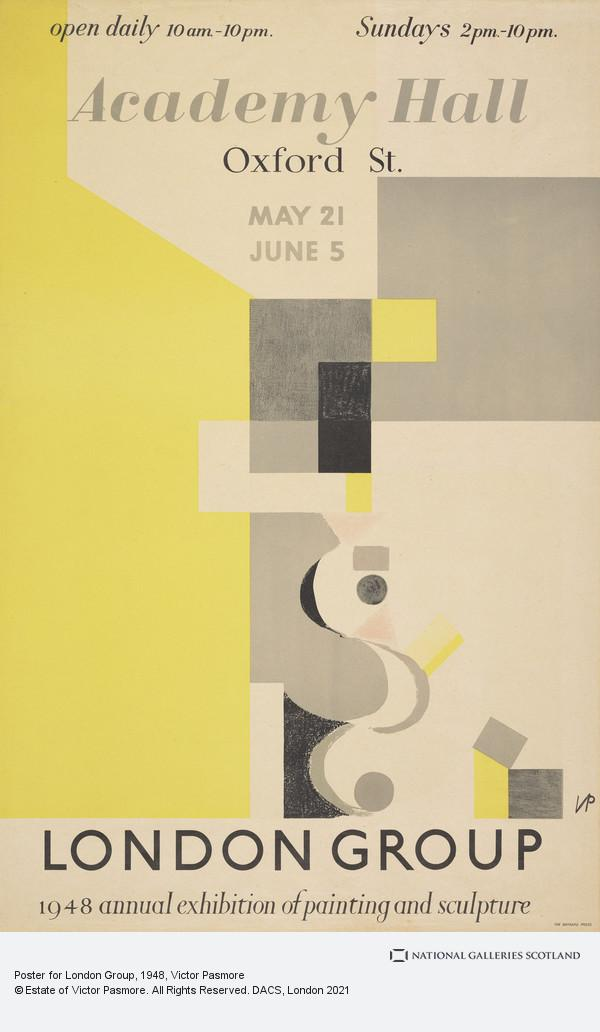 Victor Pasmore, Poster for London Group
