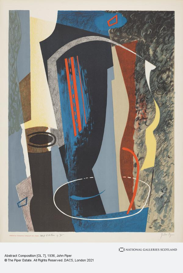 John Piper, Abstract Composition [OL 7]