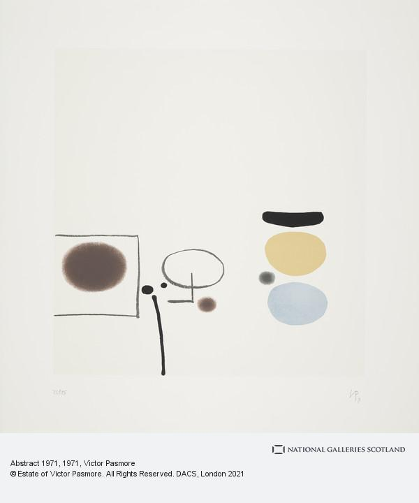Victor Pasmore, Abstract 1971