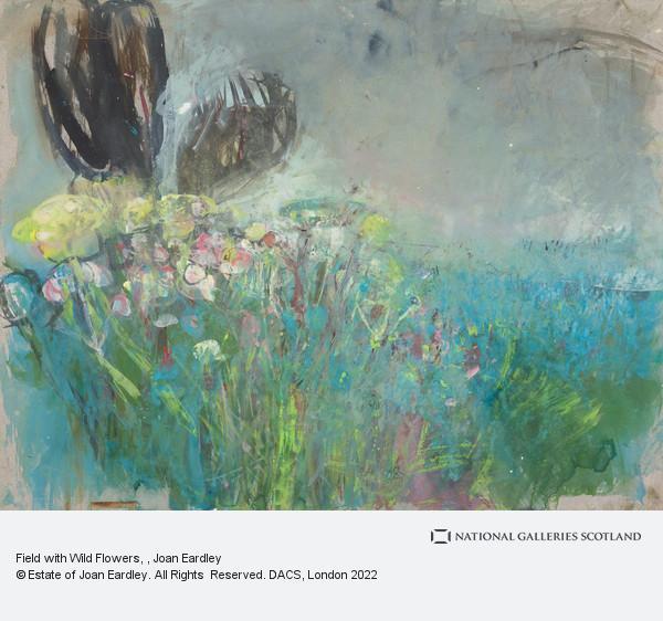 Joan Eardley, Field with Wild Flowers