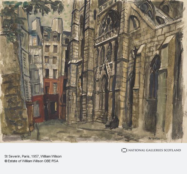 William Wilson, St Severin, Paris