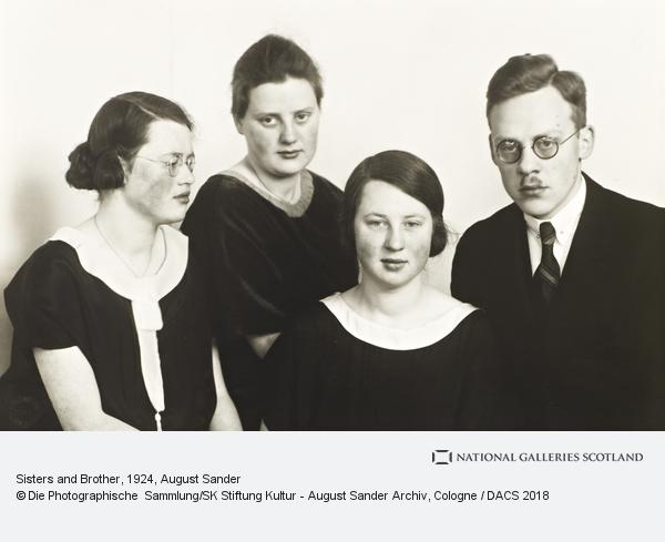 August Sander, Sisters and Brother