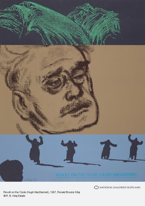 Ronald Brooks Kitaj, Revolt on the Clyde (Hugh MacDiarmid)