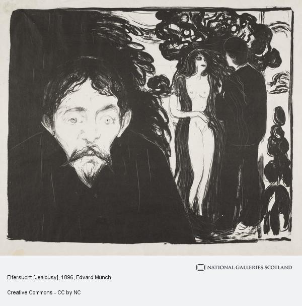 Edvard Munch, Eifersucht [Jealousy]