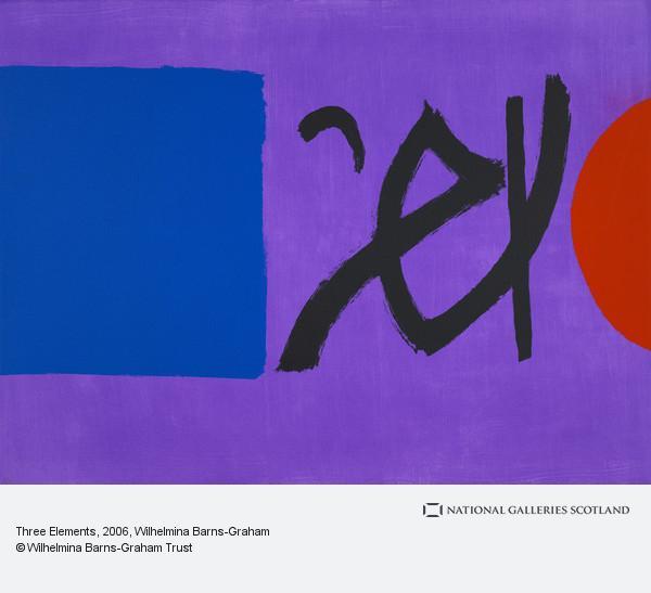 Wilhelmina Barns-Graham, Three Elements