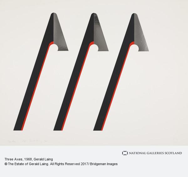 Gerald Laing, Three Axes