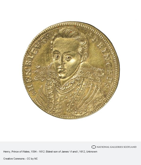 Unknown, Henry, Prince of Wales, 1594 - 1612. Eldest son of James VI and I
