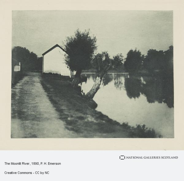 P. H. Emerson, The Moonlit River