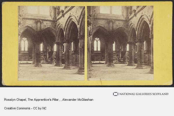 Alexander McGlashon, Rosslyn Chapel, The Apprentice's Pillar