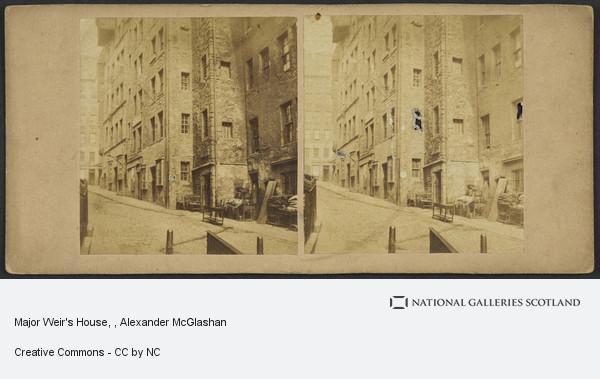 Alexander McGlashon, Major Weir's House