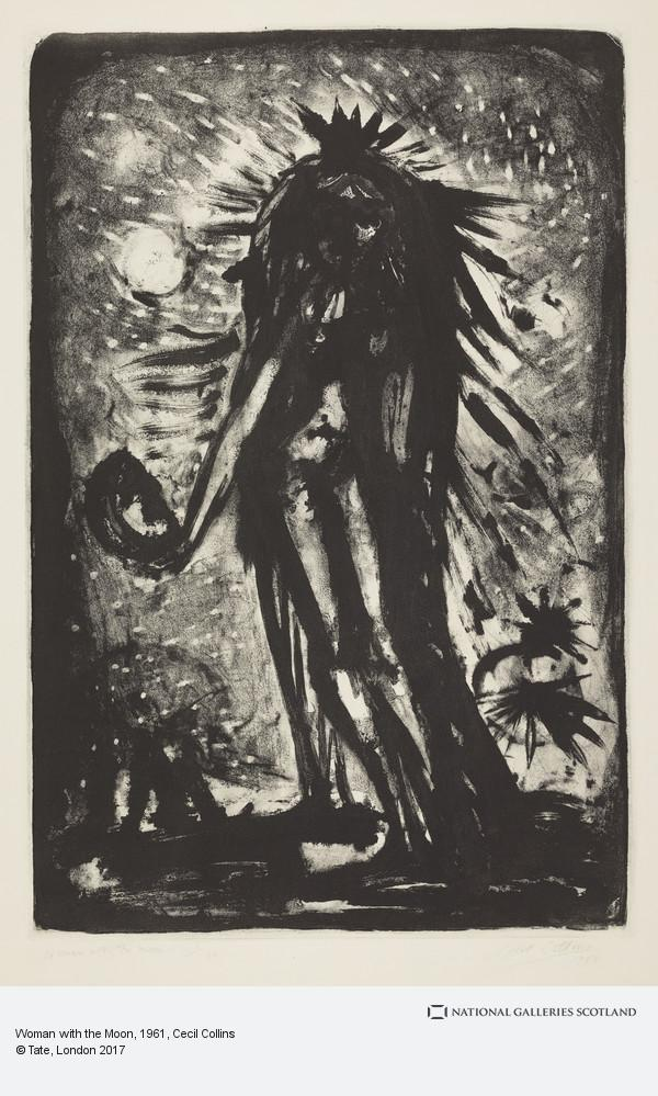 Cecil Collins, Woman with the Moon