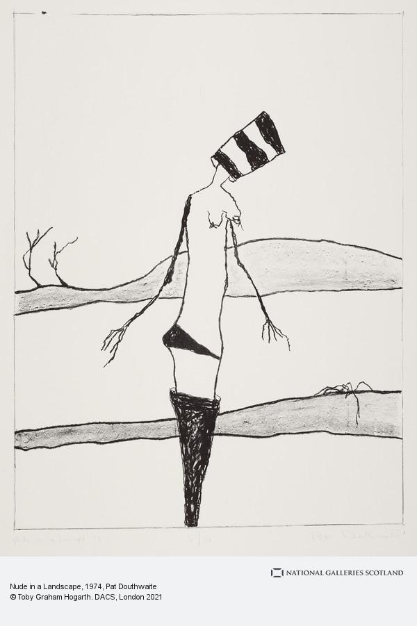 Pat Douthwaite, Nude in a Landscape