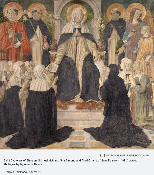 Cosimo Rosselli, Saint Catherine of Siena as Spiritual Mother of the Second and Third Orders of Saint Dominic