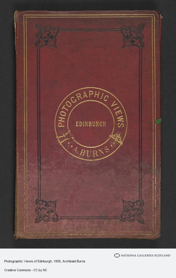 Archibald Burns, Photographic Views of Edinburgh