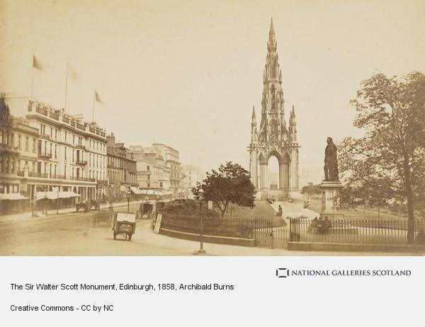 Archibald Burns, The Sir Walter Scott Monument, Edinburgh
