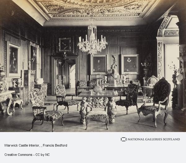 Francis Bedford, Warwick Castle Interior