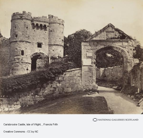 Francis Frith, Carisbrooke Castle, Isle of Wight