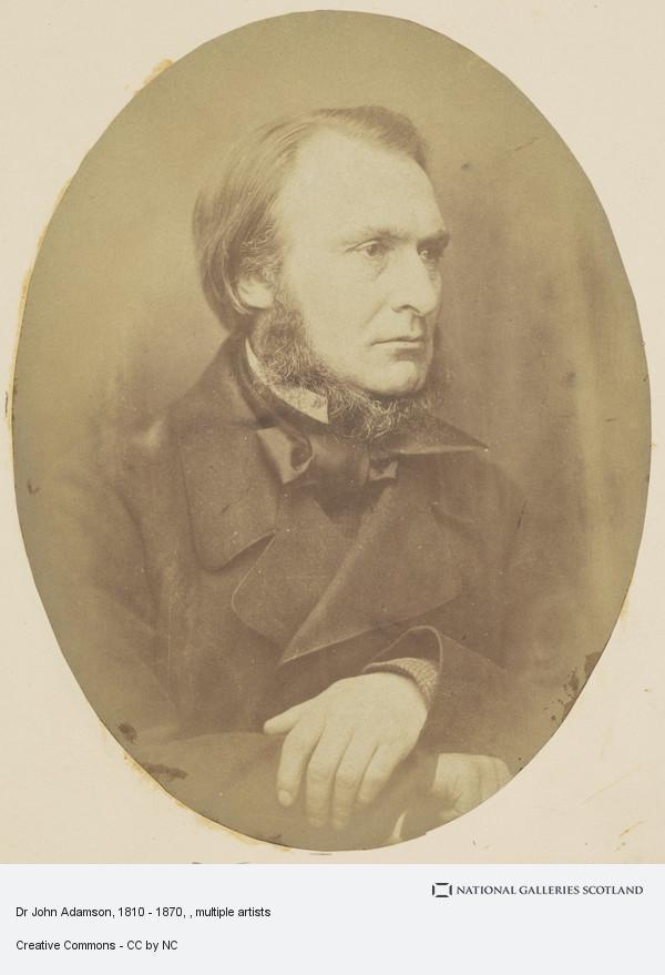John Adamson, Dr John Adamson, 1810 - 1870
