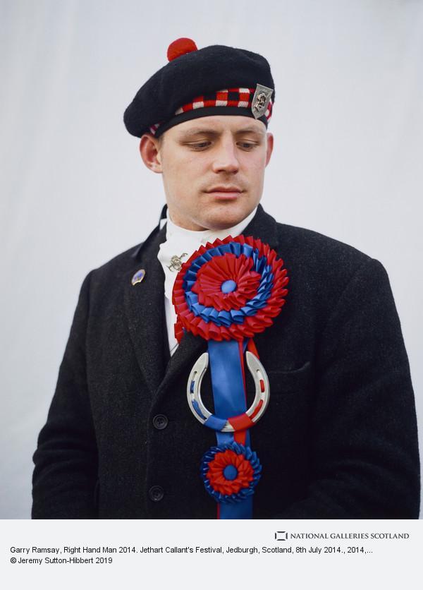 Jeremy Sutton-Hibbert, Garry Ramsay, Right Hand Man 2014. Jethart Callant's Festival, Jedburgh, Scotland, 8th July 2014.