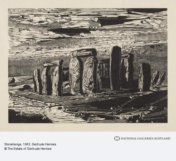Gertrude Hermes, Stonehenge