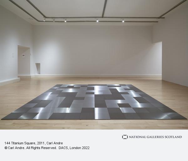 Carl Andre, 144 Titanium Square