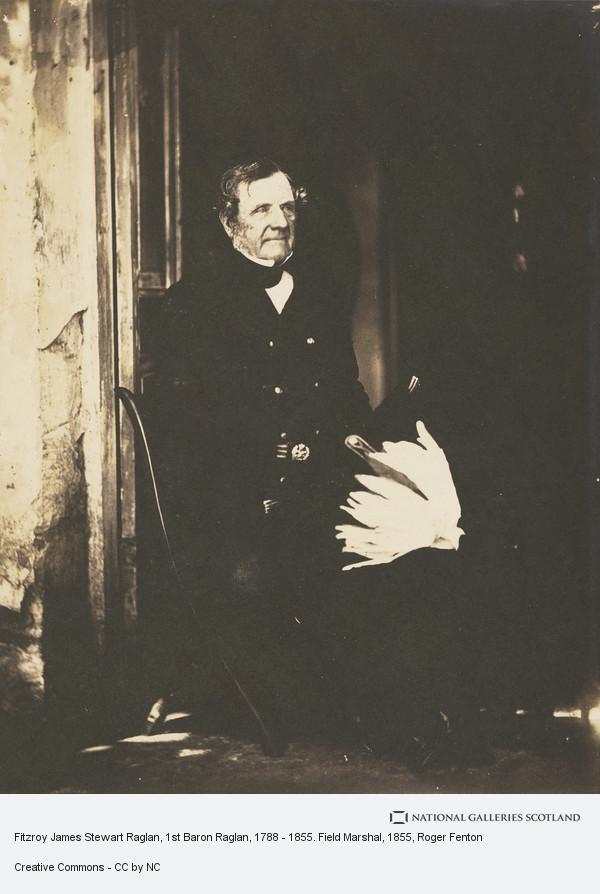 Roger Fenton, Fitzroy James Stewart Raglan, 1st Baron Raglan, 1788 - 1855. Field Marshal